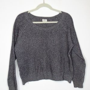 Wallace by Madewell Boat neck Gray Knit Sweater